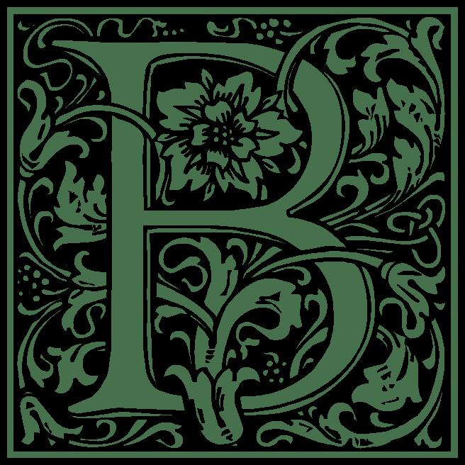 william-morris-letter-b